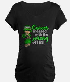 Combat Girl NH Lymphoma T-Shirt