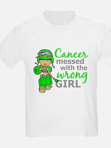 Combat Girl NH Lymphoma T-Shirt