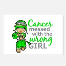 Combat Girl NH Lymphoma Postcards (Package of 8)