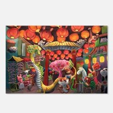 Animals of China Town Postcards (Package of 8)