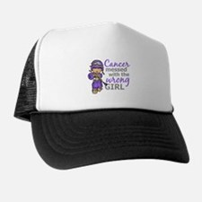 Combat Girl Hodgkin's Disease Trucker Hat