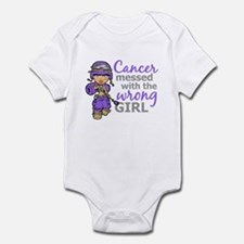 Combat Girl Hodgkin's Disease Infant Bodysuit