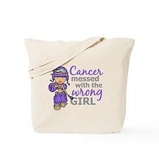 Combat Girl Hodgkin's Disease Tote Bag