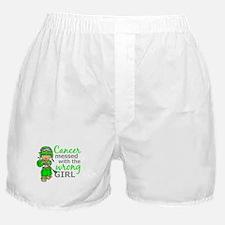 Combat Girl General Lymphoma Boxer Shorts