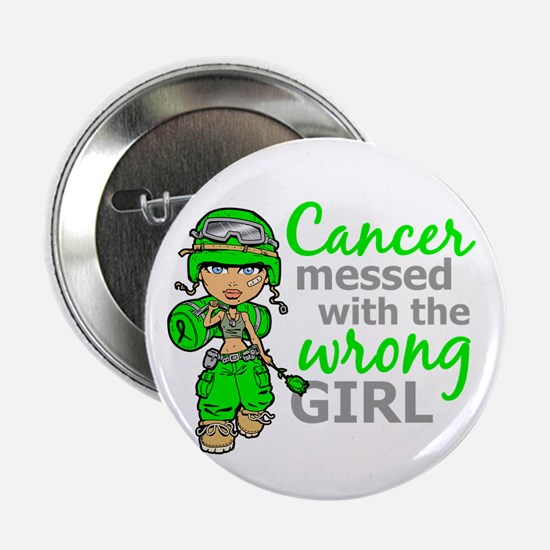 "Combat Girl General Lymphoma 2.25"" Button"