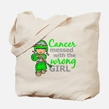 Combat Girl General Lymphoma Tote Bag