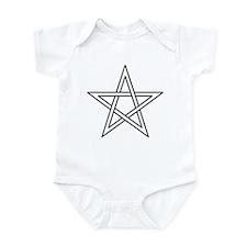 Woven Star Infant Bodysuit