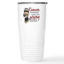 Combat Girl Melanoma Travel Mug
