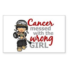 Combat Girl Melanoma Decal
