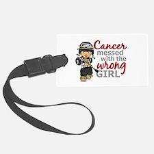 Combat Girl Melanoma Luggage Tag