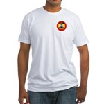 Plein Air Painter on Duty Fitted T-Shirt