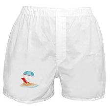 Sun Umbrella And Chair Boxer Shorts