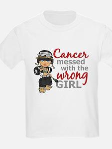 Combat Girl Skin Cancer T-Shirt
