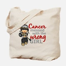 Combat Girl Skin Cancer Tote Bag