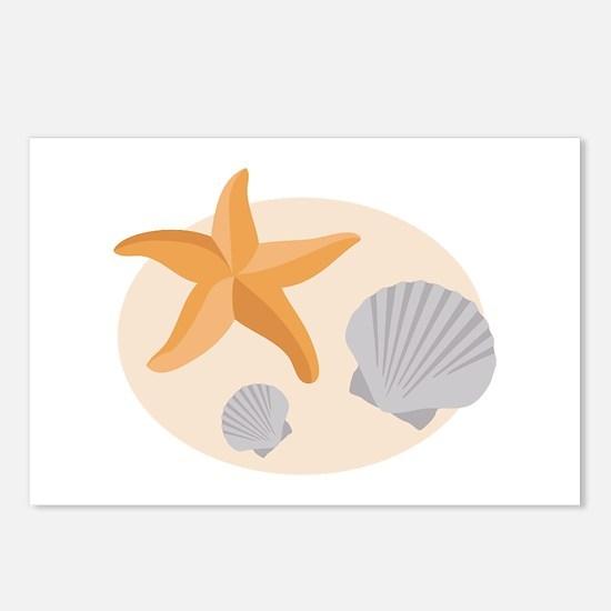 Seashells Postcards (Package of 8)