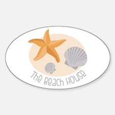 The Beach House Decal