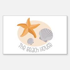 The Beach House Decal