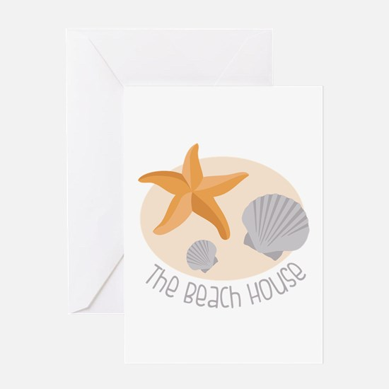 The Beach House Greeting Cards