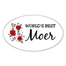 WB Mom [Dutch] Oval Decal