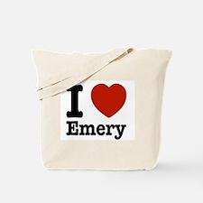 I love Emery Tote Bag