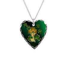 Happy St. Patricks Day to you!-dark Necklace