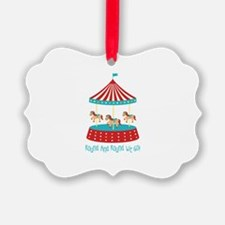Round And Round We Go! Ornament