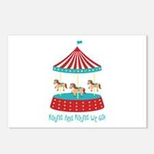 Round And Round We Go! Postcards (Package of 8)