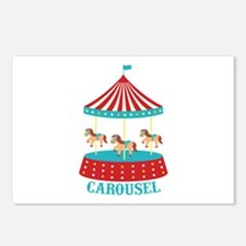 CAROUSEL Postcards (Package of 8)
