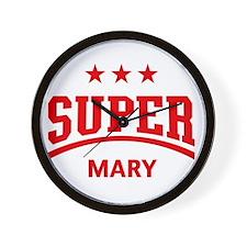 Super Mary Wall Clock