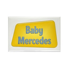Baby Mercedes Rectangle Magnet