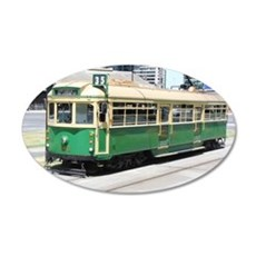 Melbourne Australia Tram Wall Decal Sticker