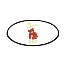 B Is For Bear Patches