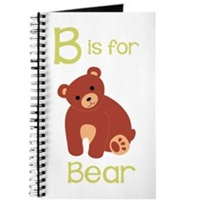 B Is For Bear Journal