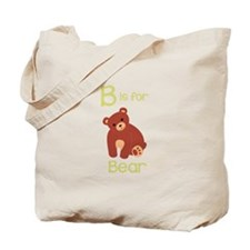 B Is For Bear Tote Bag