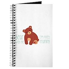 Bear With Me Im Potty Training Journal