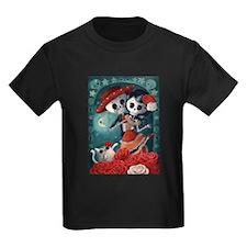 Dia de Los Muertos Mexican Lovers T-Shirt