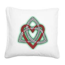 Heart of God Square Canvas Pillow