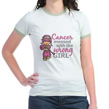 Combat Girl Breast Cancer T
