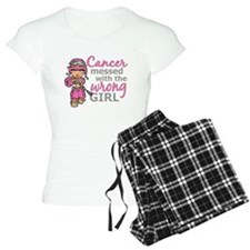 Combat Girl Breast Cancer Pajamas