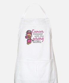 Combat Girl Breast Cancer Apron