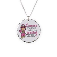 Combat Girl Breast Cancer Necklace