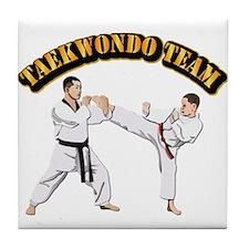 Taekwondo Team Tile Coaster