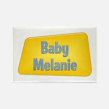 Baby Melanie Rectangle Magnet
