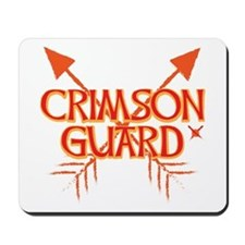 Crimson Guard sigil with arrows 2 Mousepad