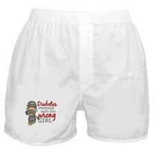 Combat Girl Diabetes Boxer Shorts