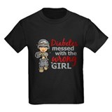 Diabetes Kids T-shirts (Dark)
