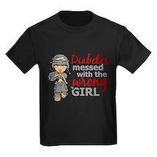 Combat Girl Diabetes T