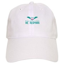 GAMERS dont go to heaven We RESPAWN Baseball Cap