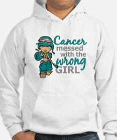 Combat Girl Ovarian Cancer Jumper Hoodie