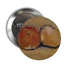 "Cézanne Apples 2.25"" Button"
